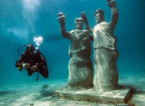 Underwater museum diving snorkelling trogir1