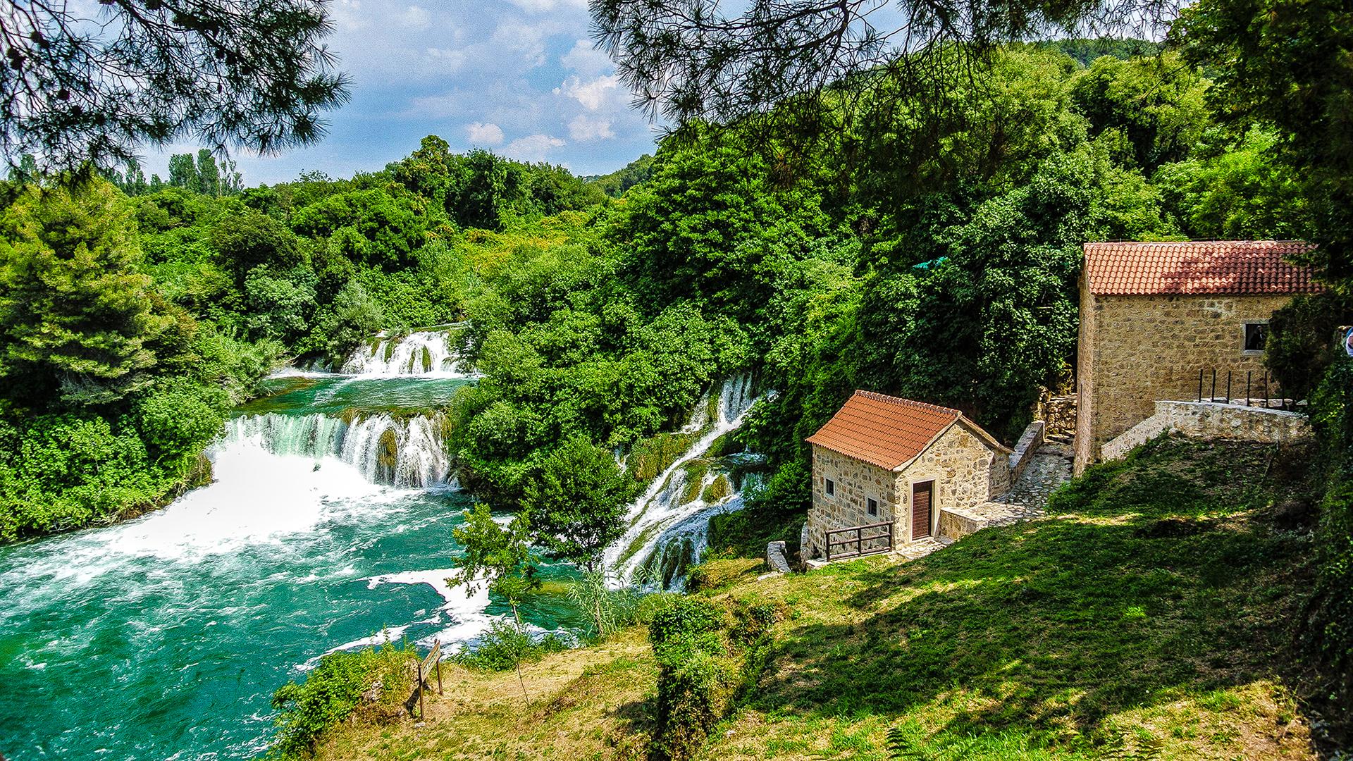 krka waterfall sibenik primosten 2