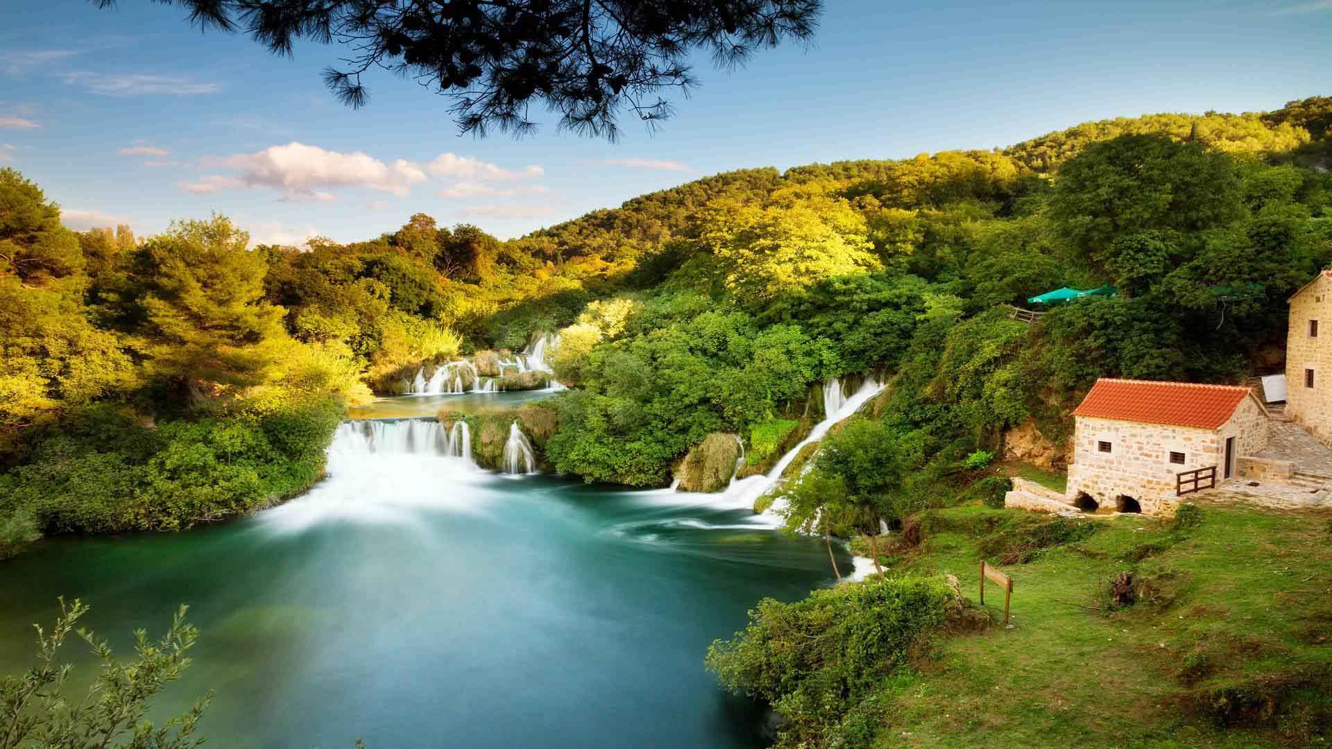 krka waterfall sibenik primosten 7