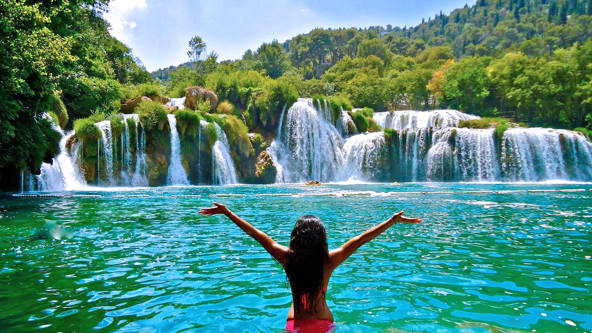 krka waterfall sibenik primosten 8