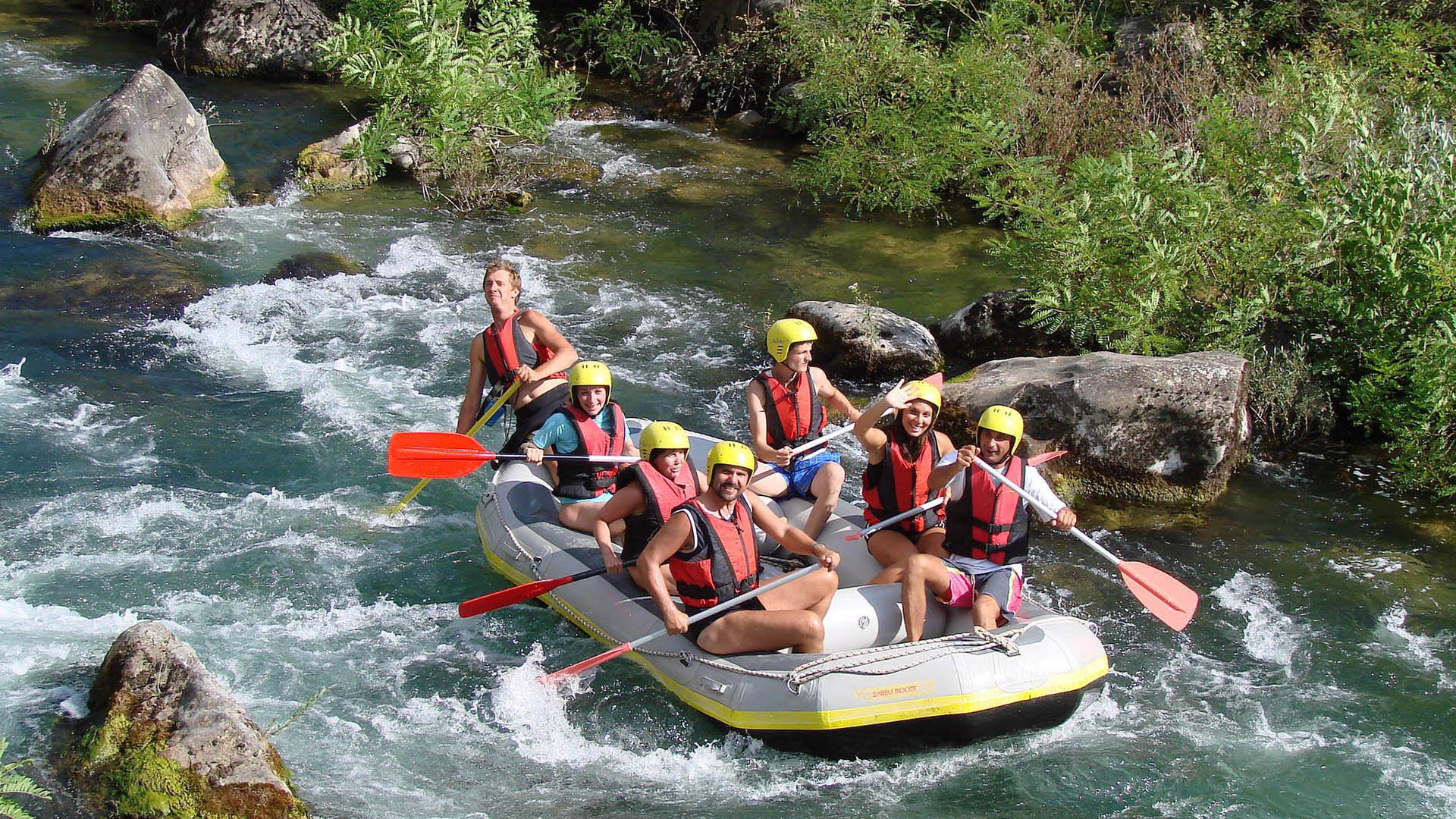 rafting trogir kairos cetina 16