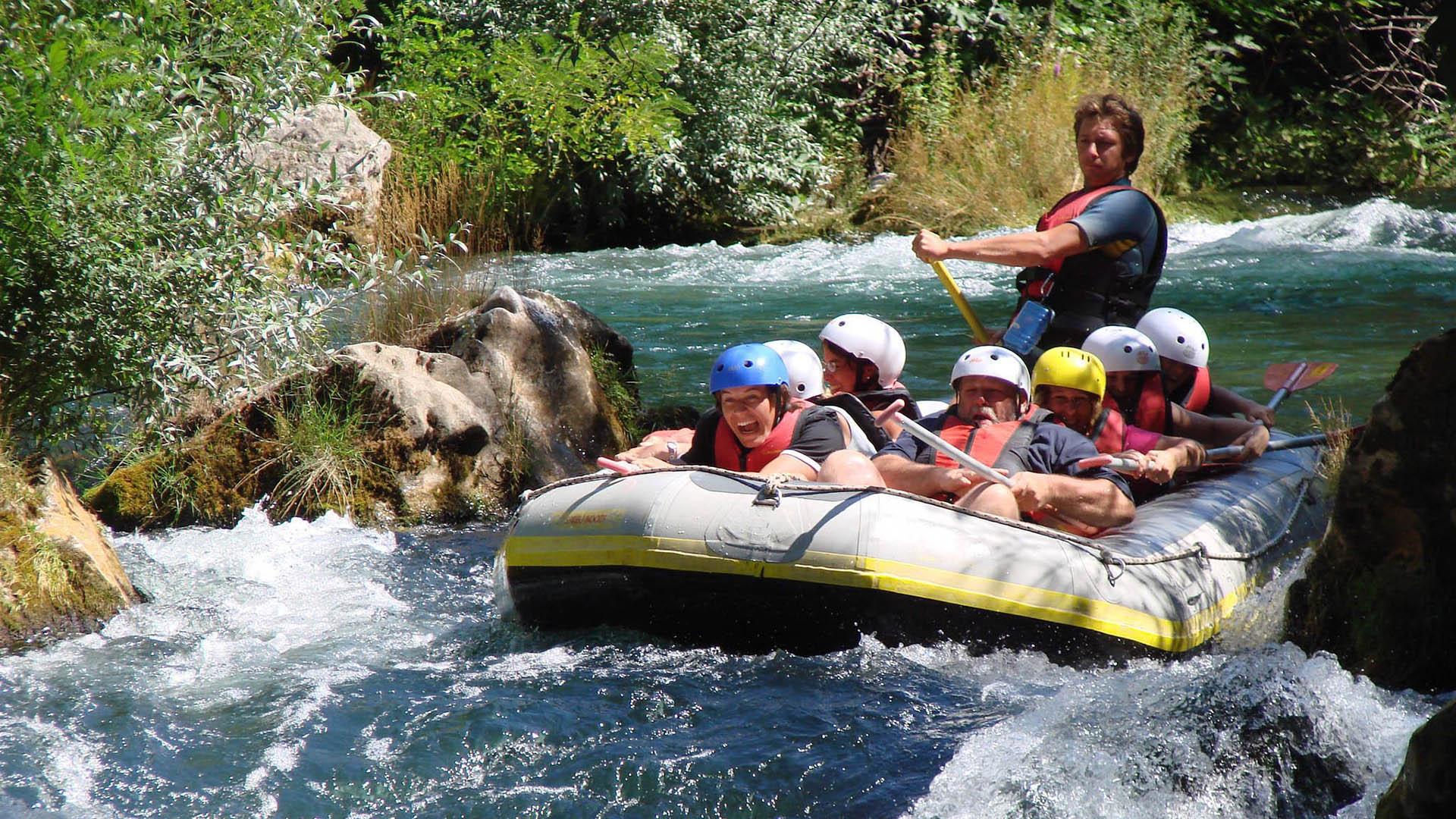 rafting trogir kairos cetina 24