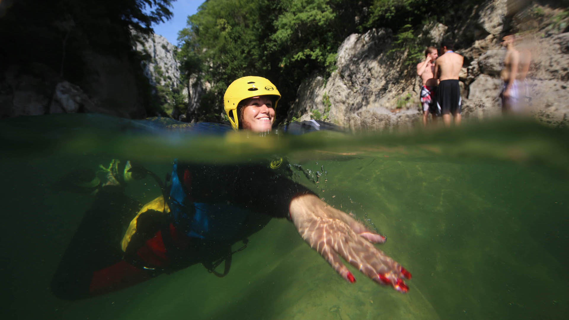 river canyoning adrenaline adventure 11