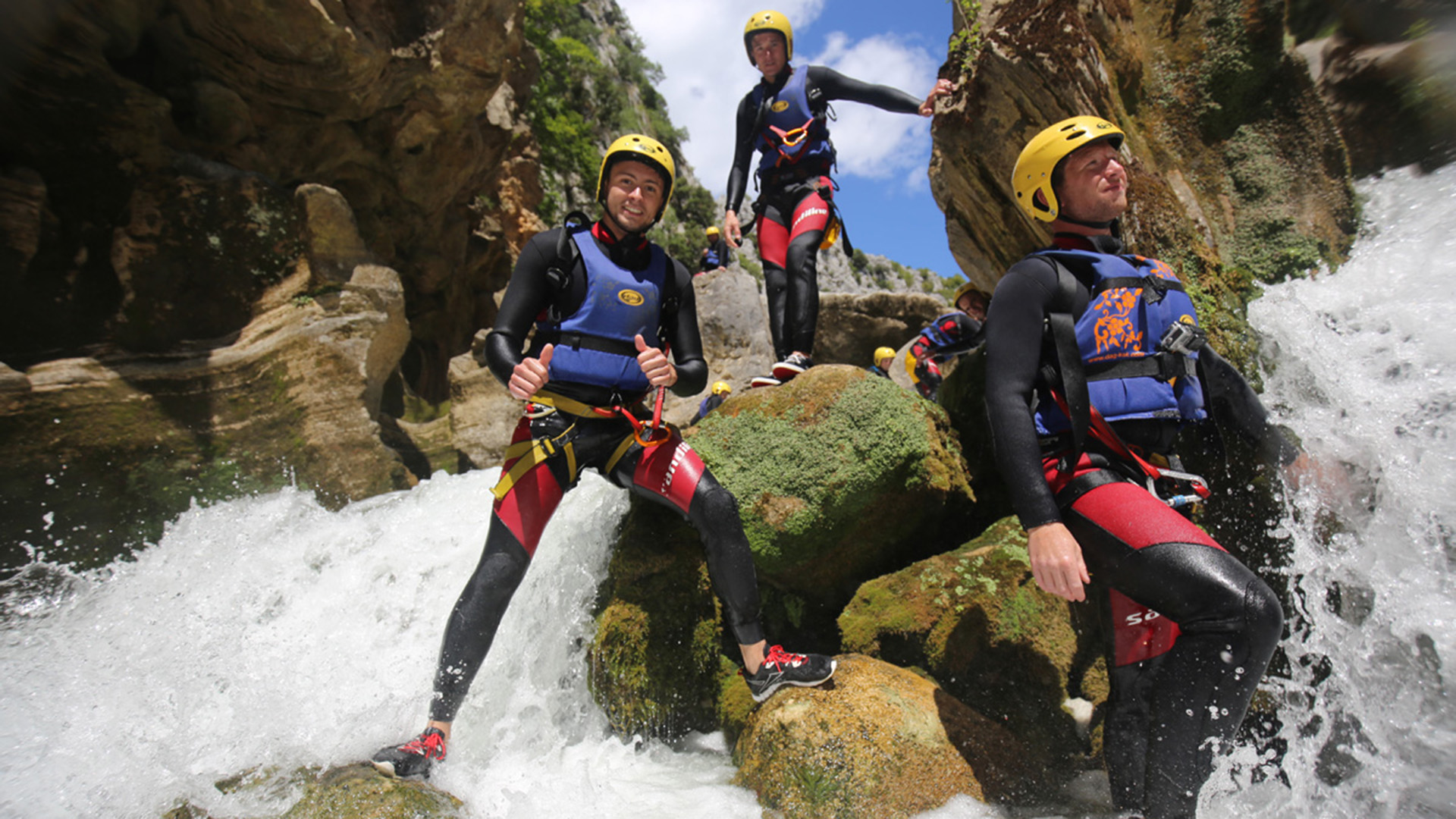 river canyoning adrenaline adventure 13