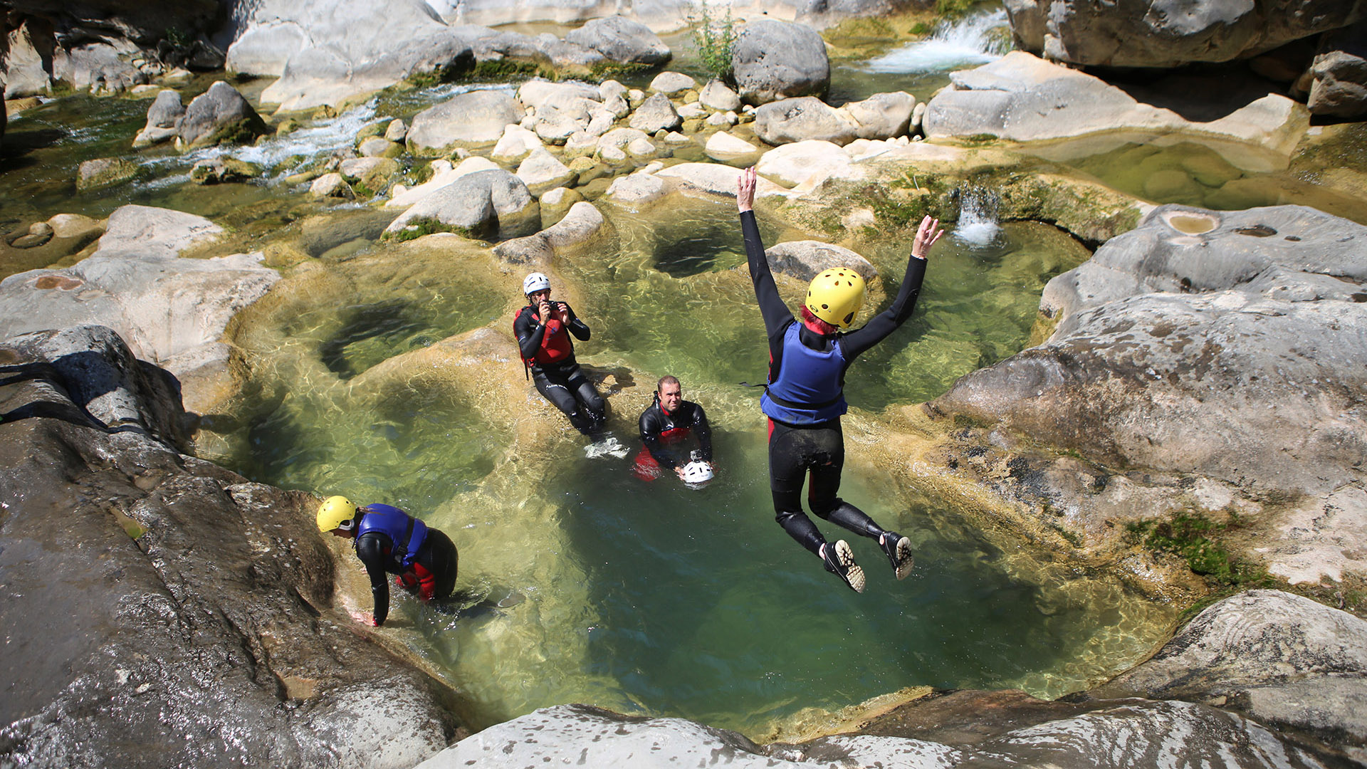 river canyoning adrenaline adventure 5