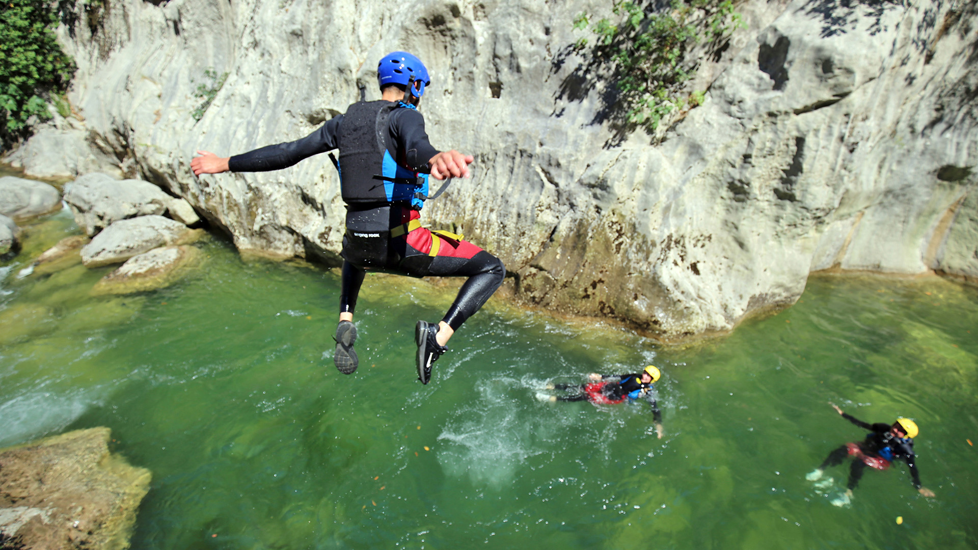 river canyoning adrenaline adventure 8