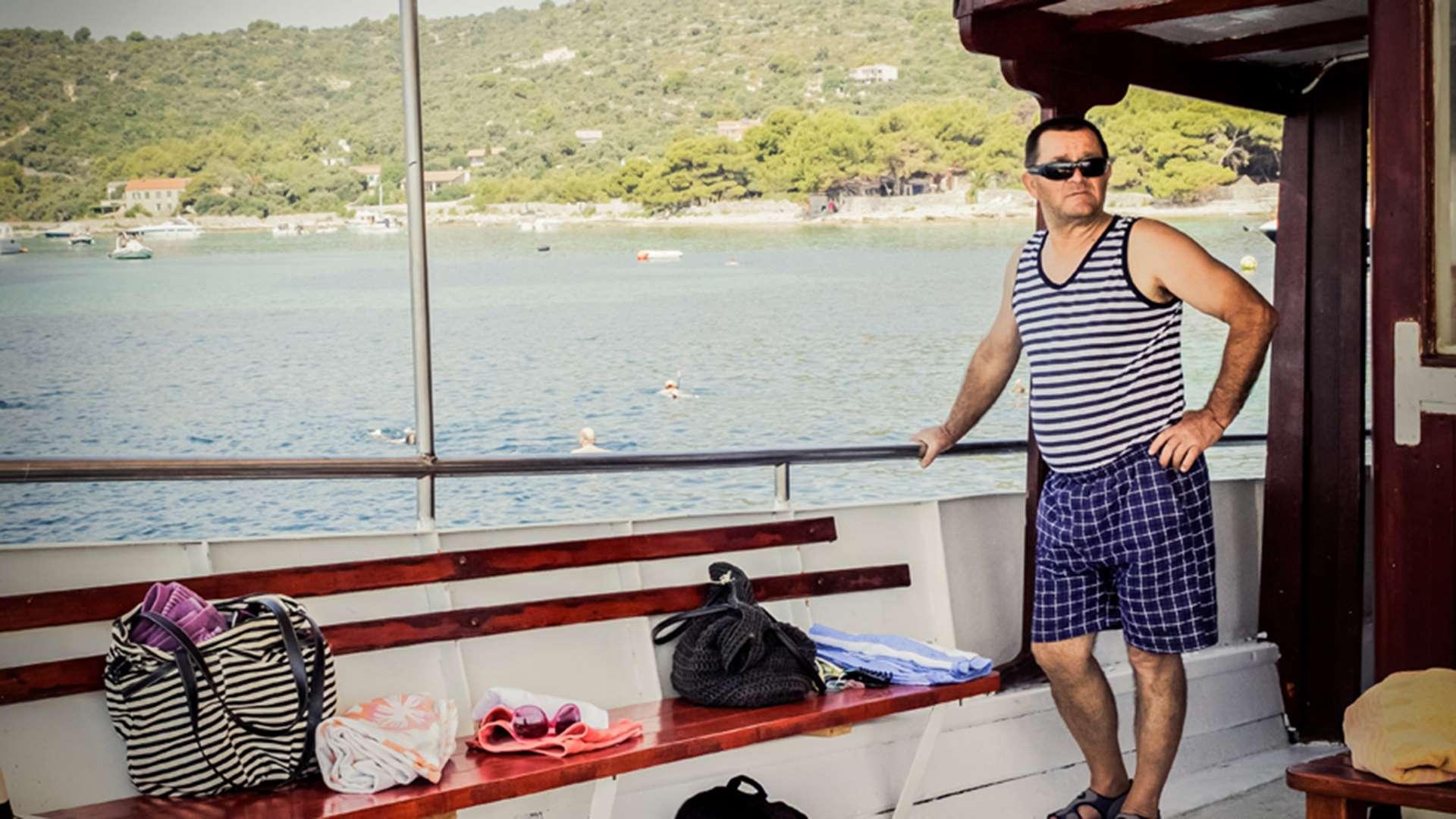 three island tour trogir blue lagoon 1