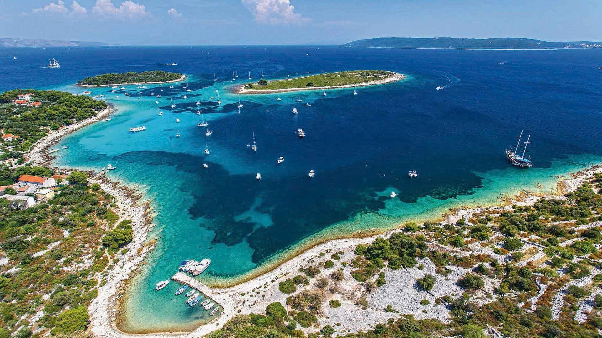 three island tour trogir blue lagoon 6