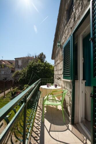 studio ana balcony trogir 2pax 1